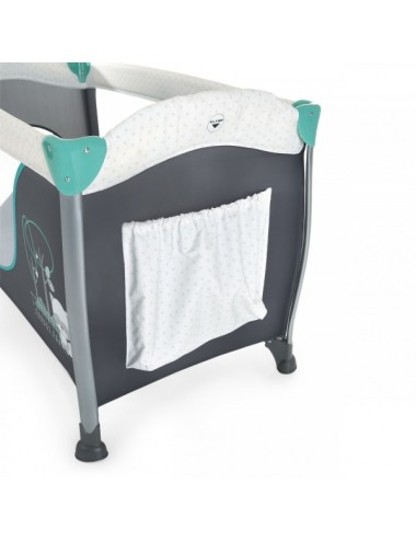 Cuna de viaje con cambiador Sleep N Play Center Forest Fun de Hauck